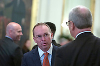 Acting White House Chief of Staff Mick Mulvaney is seen before United States President Donald J. Trump and Liu He, China's vice premier, sign a trade agreement between the United States and China in the East Room of the White House in Washington D.C., U.S., on Wednesday, January 15, 2020.  <br /> <br /> Credit: Stefani Reynolds / CNP/AdMedia