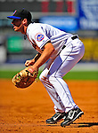 7 March 2009: New York Mets' first baseman Nick Evans in action during a Spring Training game against the Washington Nationals at Tradition Field in Port St. Lucie, Florida. The Nationals defeated the Mets 7-5 in the Grapefruit League matchup. Mandatory Photo Credit: Ed Wolfstein Photo
