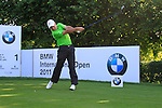 Stephan Jager (GER) tees off on the 1st tee during Day 2 of the BMW International Open at Golf Club Munchen Eichenried, Germany, 24th June 2011 (Photo Eoin Clarke/www.golffile.ie)