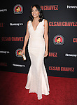 Rosario Dawson attends The  Cesar Chavez Los Angeles Premiere held at TCL Chinese Theatre in Hollywood, California on March 20,2014                                                                               © 2014 Hollywood Press Agency