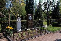 Daenemark, Kopenhagen, auf dem Friedhof Assistens Kirkegard
