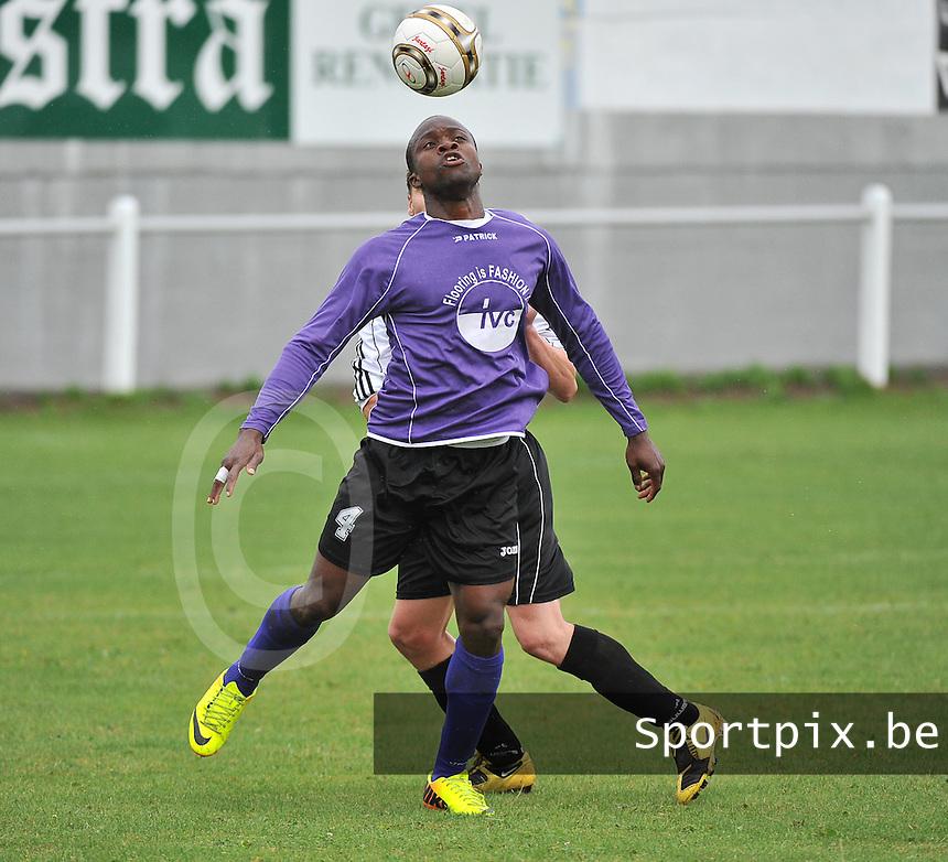 FC Helkijn : Jelili Salami<br /> foto VDB / Bart Vandenbroucke