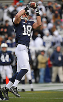 23 November 2013:  Penn State TE Jesse James (18). The Nebraska Cornhuskers defeated the Penn State Nittany Lions 23-20 in overtime at Beaver Stadium in State College, PA.