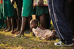 After-class dance and performance rituals at Hope North, Uganda.
