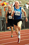 Athletes at the 2007 Senior Olympics compete for the gold.