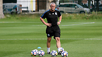 Huddersfield Town U23 Manager, Frankie Bunn during Millwall Under-23 vs Huddersfield Town Under-23, Professional Development League Football at Millwall Training Ground on 14th August 2017