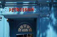 "Europe/France/Ile-de-France/Paris : Restaurant ""Petrossian"" 18 boulevard de la Tour Maubourg [Non destiné à un usage publicitaire - Not intended for an advertising use]"