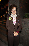 Malcolm in the Middle's Jane Kaczmerek poses in front of her hotel in New York City, New York on October 6, 2010.