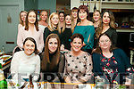 Birthday Party: Sinead Reidy, Ballyheigue, second from right front celebrating her birthday with family & friends at Maisy's Restaurant, Kilflynn on Saturday night last.