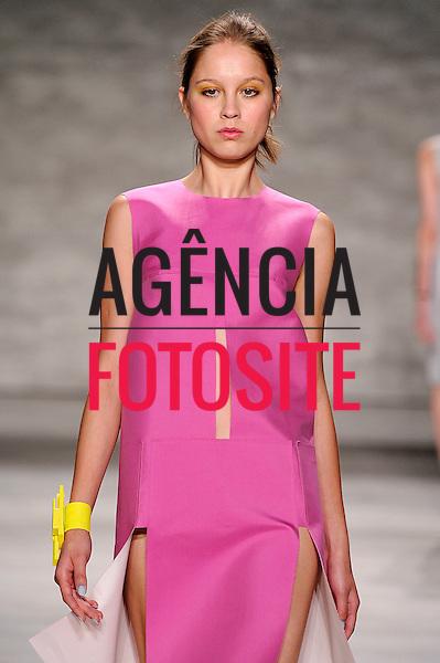 Nova Iorque, EUA &sbquo;09/2014 - Desfile de Angel Sanchez durante a Semana de moda de Nova Iorque  -  Verao 2015. <br /> <br /> Foto: FOTOSITE