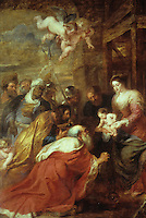 Peter Paul Rubens 1577-1640. Adoration of the Magi. Cambridge: King's College Chapel. Reference only.