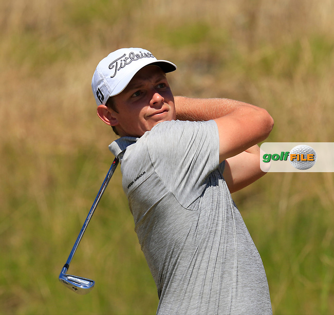 Cameron Smith (AUS) tees off the 9th tee during Saturday's Round 3 of the 2015 U.S. Open 115th National Championship held at Chambers Bay, Seattle, Washington, USA. 6/20/2015.<br /> Picture: Golffile | Eoin Clarke<br /> <br /> <br /> <br /> <br /> All photo usage must carry mandatory copyright credit (&copy; Golffile | Eoin Clarke)