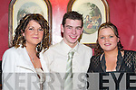 GAA: Having a ball at the Newmarket GAA Social in the River Island Hotel, Castleisland, last Saturday night were l-r: Catriona Flaherty, Jerry McCarthy and Mairead ODoherty (all Newmarket)..