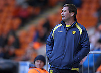 Burton Albion manager Nigel Clough <br /> <br /> Photographer Stephen White/CameraSport<br /> <br /> The EFL Sky Bet League One - Blackpool v Burton Albion - Saturday 24th November 2018 - Bloomfield Road - Blackpool<br /> <br /> World Copyright © 2018 CameraSport. All rights reserved. 43 Linden Ave. Countesthorpe. Leicester. England. LE8 5PG - Tel: +44 (0) 116 277 4147 - admin@camerasport.com - www.camerasport.com