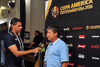 Philadelphia, PA - Tuesday June 14, 2016: Hernan Dario Gomez prior to a Copa America Centenario Group D match between Chile (CHI) and Panama (PAN) at Lincoln Financial Field.