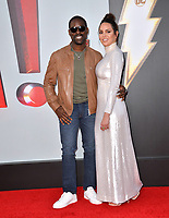 LOS ANGELES, CA. March 28, 2019: Sterling K. Brown & Marta Milans at the world premiere of Shazam! at the TCL Chinese Theatre.<br /> Picture: Paul Smith/Featureflash