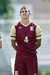 28 August 2016: Elon's Nicholas O'Callaghan. The Elon University Phoenix played the University of San Diego Toreros at Koskinen Stadium in Durham, North Carolina in a 2016 NCAA Division I Men's Soccer match. USD won the game 2-1.
