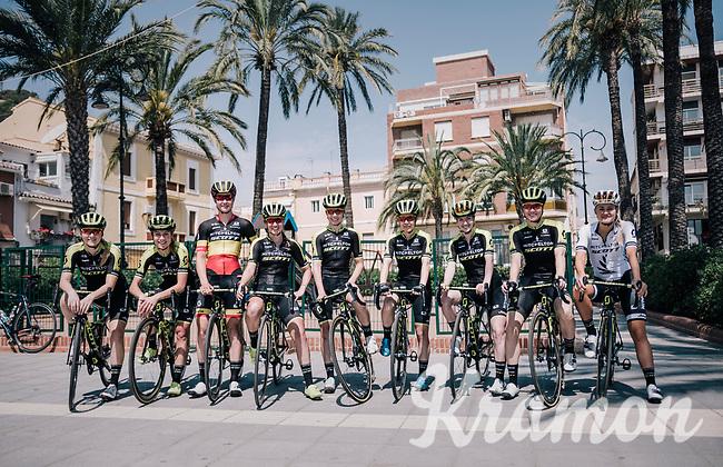 Mitchelton-Scott Women's team training camp<br /> <br /> Oliva (Alicante) /Spain, may 2018<br /> ©kramon