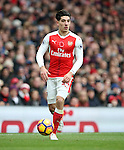 Arsenal's Hector Bellerin in action during the Premier League match at the Emirates Stadium, London. Picture date November 6th, 2016 Pic David Klein/Sportimage