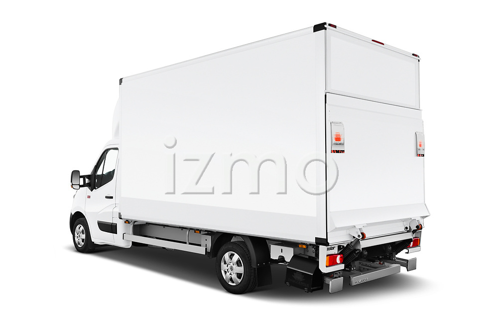Car pictures of rear three quarter view of a 2019 Renault Master Base 4 Door Cargo Van angular rear