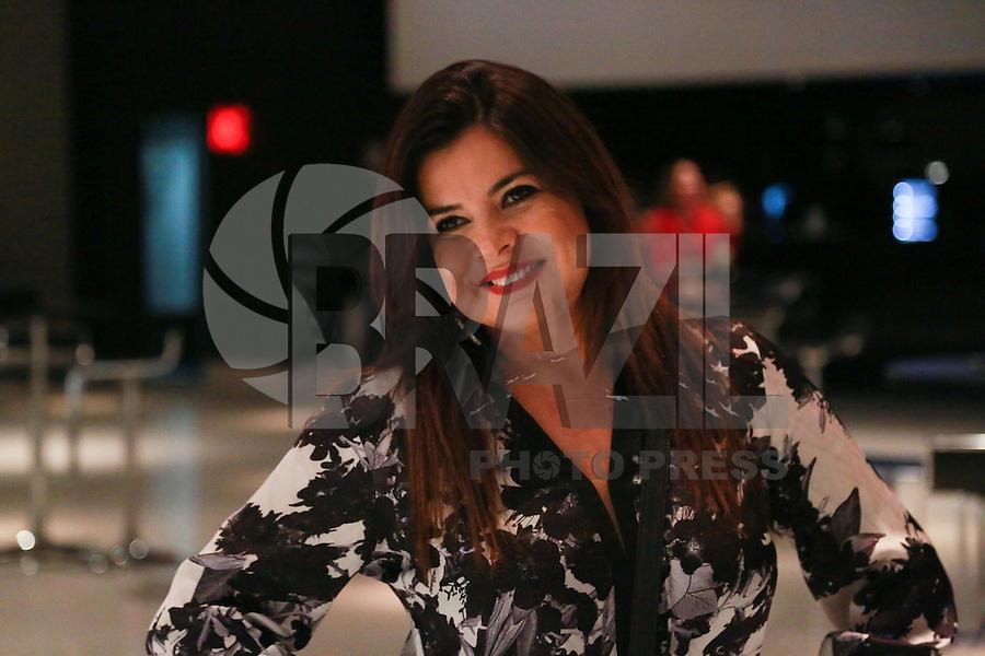 SÃO PAULO,SP,29.05.2015 - SHOW-SP - Mara Maravilha durante show da cantora Baby do Brasil no HSBC Brasil na região sul da cidade de São Paulo na noite desta sexta-feira, 29. (Foto: Vanessa Carvalho / Brazil Photo Press)