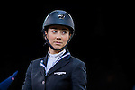 Jane Richard Philips, Longines Ambassador of Elegance, riding Zekina Z in action during the Longines Speed Challenge competition as part of the Longines Hong Kong Masters on 13 February 2015, at the Asia World Expo, outskirts Hong Kong, China. Photo by Victor Fraile / Power Sport Images