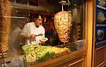 Take away kebabs, the Latin quarter Paris.