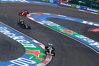 27th October 2019, Autodromo HermanRodriguez, Mexico City, Mexico; F1 Grand Prix of Mexico, Race Day;  44 Lewis Hamilton GBR, Mercedes AMG Petronas Motorsport