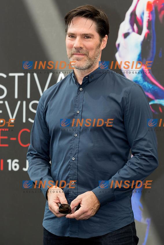 Thomas GIBSON, Criminal Minds <br /> Monaco Montecarlo 14-06-2016 <br /> 56th Monaco TV Festival - Photocall Opening Ceremony <br /> Foto Nicolas Gavet Panoramic / Insidefoto