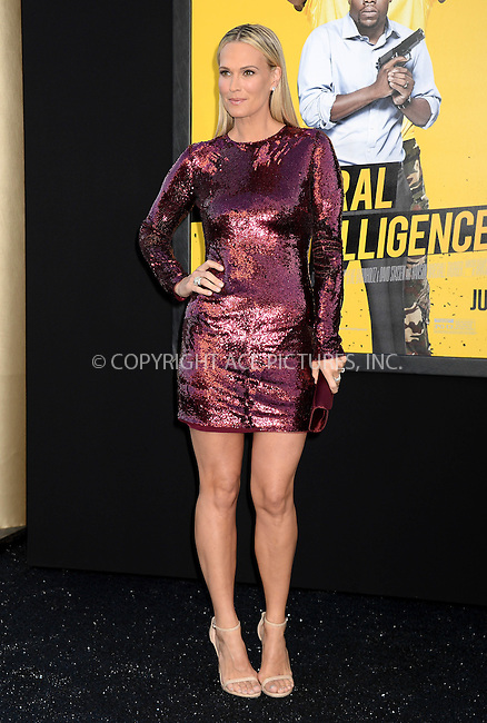 WWW.ACEPIXS.COM<br /> <br /> June 10 2016, LA<br /> <br /> Molly Sims attends the premiere of Warner Bros. Pictures' 'Central Intelligence' at Westwood Village Theatre on June 10, 2016 in Westwood, California.<br /> <br /> <br /> By Line: Solar/ACE Pictures<br /> <br /> <br /> ACE Pictures, Inc.<br /> tel: 646 769 0430<br /> Email: info@acepixs.com<br /> www.acepixs.com