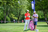 Giulia Molinaro (ITA) looks over hertee shot on 17 during Thursday's round 1 of the 2017 KPMG Women's PGA Championship, at Olympia Fields Country Club, Olympia Fields, Illinois. 6/29/2017.<br /> Picture: Golffile | Ken Murray<br /> <br /> <br /> All photo usage must carry mandatory copyright credit (&copy; Golffile | Ken Murray)