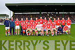 The Cork team who played Kerry in their opening game of the NFL at Austin Stack park, Tralee on Sunday.