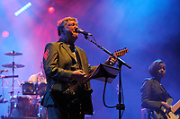 LONDON, ENGLAND - NOVEMBER 6: Glenn Tilbrook of 'Squeeze' performing at the Royal Albert Hall on November 6, 2017 in London, England.<br /> CAP/MAR<br /> &copy;MAR/Capital Pictures