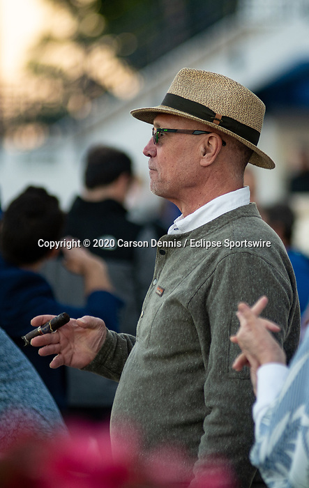 February 29, 2020: Scenes from Fountain of Youth Stakes Day at Gulfstream Park on February 29, 2020 in Hallandale Beach, FL. (Photo by Carson Dennis/Eclipse Sportswire/CSM)