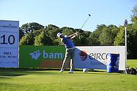 Marc Warren's (SCO) during Wednesday's Pro-Am of the 2014 Irish Open held at Fota Island Resort, Cork, Ireland. 18th June 2014.<br /> Picture: Eoin Clarke www.golffile.ie