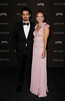 Damien Chazelle and Olivia Hamilton attends 2018 LACMA Art + Film Gala at LACMA on November 3, 2018 in Los Angeles, California.    <br /> CAP/MPI/IS<br /> &copy;IS/MPI/Capital Pictures