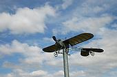 Fisher Monoplane memorial near Masterton.
