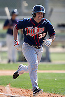 March 18, 2010:  Nathan Hanson (36) of the Minnesota Twins organization during Spring Training at the Ft. Myers Training Complex in Ft. Myers, FL.  Photo By Mike Janes/Four Seam Images