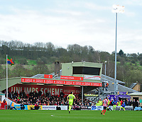 A general view of Sincil Bank, home of Lincoln City<br /> <br /> Photographer Andrew Vaughan/CameraSport<br /> <br /> Buildbase FA Trophy Semi Final Second Leg - Lincoln City v York City - Saturday 18th March 2017 - Sincil Bank - Lincoln<br />  <br /> World Copyright &copy; 2017 CameraSport. All rights reserved. 43 Linden Ave. Countesthorpe. Leicester. England. LE8 5PG - Tel: +44 (0) 116 277 4147 - admin@camerasport.com - www.camerasport.com