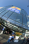The Hague, Netherlands, June 08: View of the Kyocera Stadium from the Stadium Plaza on June 8, 2014 during the World Cup 2014 at Kyocera Stadium in The Hague, Netherlands. (Photo by Dirk Markgraf / www.265-images.com) *** Local caption ***