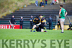 Jordan Kiely Dr Crokes had to be replaced after picking up an injury against Kilcummin on Saturday