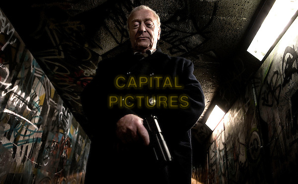 Michael Caine.in Harry Brown (2009) .*Filmstill - Editorial Use Only*.CAP/NFS.Supplied by Capital Pictures.