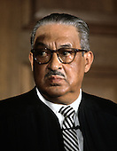 "Associate Justice of the United States Supreme Court Thurgood Marshall photographed at the Supreme Court in Washington, D.C. on Monday, April 24, 1972.  He was appointed in 1967 by U.S. President Lyndon B. Johnson..Credit: Benjamin E. ""Gene"" Forte / CNP"