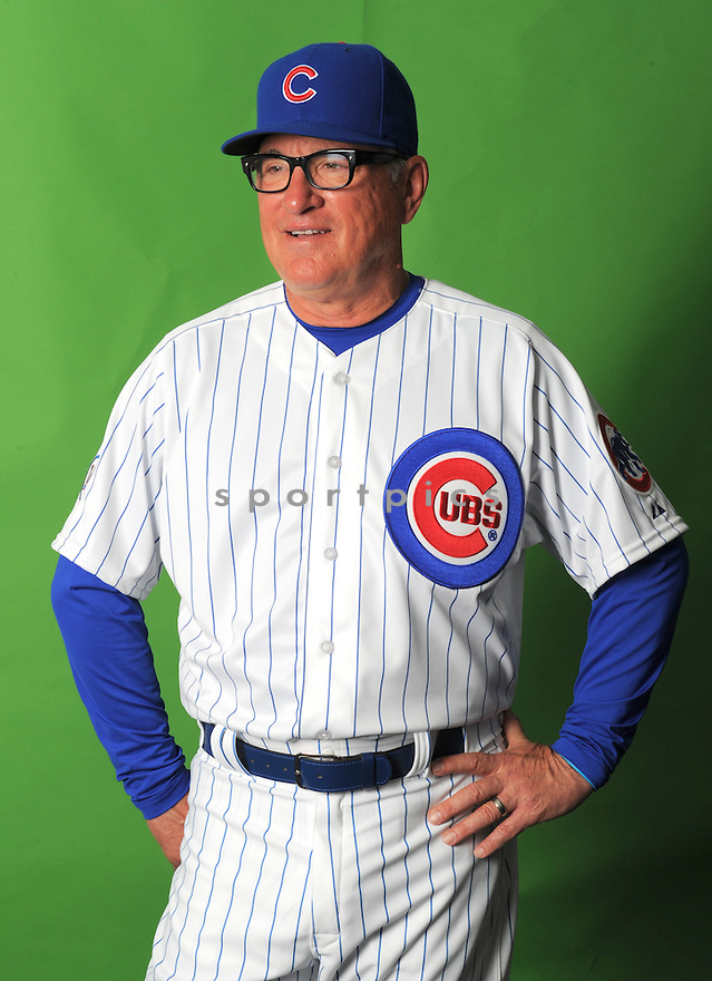 Chicago Cubs Joe Maddon (70) during photo day on March 2, 2015 in Mesa, AZ.