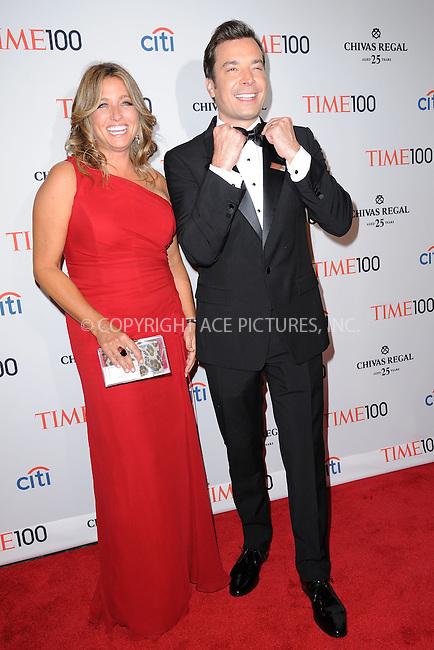 WWW.ACEPIXS.COM . . . . . .April 23, 2013...New York City...Nancy Juvonen and Jimmy Fallon attend TIME 100 Gala, TIME'S 100 Most Influential People In The World at Jazz at Lincoln Center on April 23, 2013 in New York City ....Please byline: KRISTIN CALLAHAN - ACEPIXS.COM.. . . . . . ..Ace Pictures, Inc: ..tel: (212) 243 8787 or (646) 769 0430..e-mail: info@acepixs.com..web: http://www.acepixs.com .