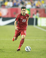 Portugal forward Helder Postiga (23).  In an International friendly match Brazil defeated Portugal, 3-1, at Gillette Stadium on Sep 10, 2013.
