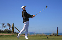 Harry Boyle during Round Two of the West of England Championship 2016, at Royal North Devon Golf Club, Westward Ho!, Devon  23/04/2016. Picture: Golffile | David Lloyd<br /> <br /> All photos usage must carry mandatory copyright credit (&copy; Golffile | David Lloyd)