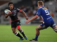 DURBAN, SOUTH AFRICA - MAY 27: Garth April of the Cell C Sharks during the Super Rugby match between Cell C Sharks and DHL Stormers at Growthpoint Kings Park on May 27, 2017 in Durban, South Africa. Photo by Steve Haag / stevehaagsports.com