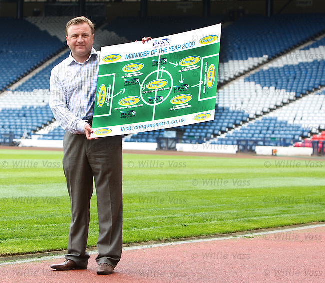 Billy Reid the 2008 winner of manager of the year launches the search for the 2009 manager of the year