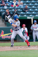 Amarillo Sod Poodles shortstop Owen Miller (14) during a Texas League game against the Springfield Cardinals on April 25, 2019 at Hammons Field in Springfield, Missouri. Springfield defeated Amarillo 8-0. (Zachary Lucy/Four Seam Images)